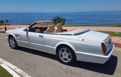 2002 BENTLEY AZURE MULLINER SYMBOLIC - 10088 MILES ONLY For Sale (picture 3 of 6)