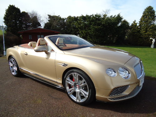 Bentley GTC  NEW 2018 For Sale (picture 1 of 6)