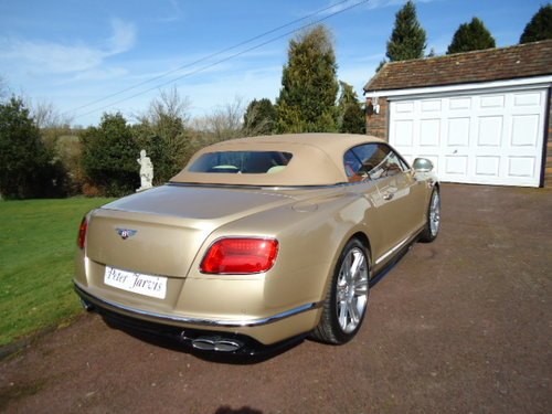 Bentley GTC  NEW 2018 For Sale (picture 2 of 6)