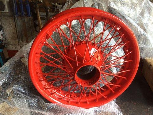 1985 Classic Bentley Wheel Restoration - Tudor Wheels Ltd  (picture 1 of 2)