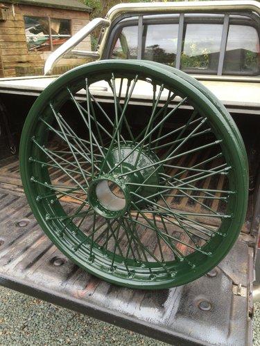 1985 Classic Bentley Wheel Restoration - Tudor Wheels Ltd  (picture 2 of 2)