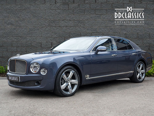 2016 Bentley Mulsanne Speed V8 (RHD) SOLD (picture 1 of 6)