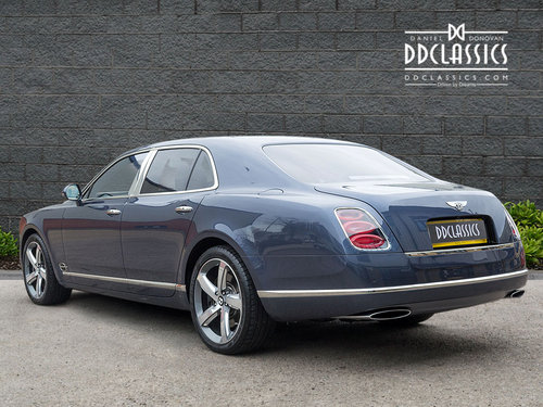 2016 Bentley Mulsanne Speed V8 (RHD) SOLD (picture 2 of 6)