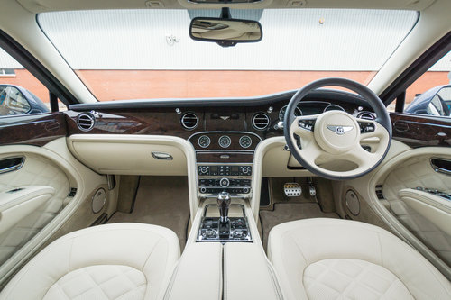 2016 Bentley Mulsanne Speed V8 (RHD) SOLD (picture 5 of 6)