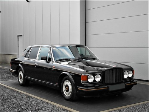 1989 Bentley Turbo R 6.8 Black auto 75000 miles LHD SOLD (picture 1 of 6)