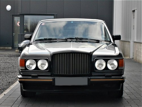 1989 Bentley Turbo R 6.8 Black auto 75000 miles LHD SOLD (picture 5 of 6)