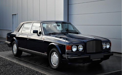1989 Bentley Turbo RL Aut. (service history) Blue 25500 mile SOLD (picture 1 of 6)