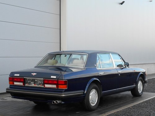 1989 Bentley Turbo RL Aut. (service history) Blue 25500 mile SOLD (picture 4 of 6)