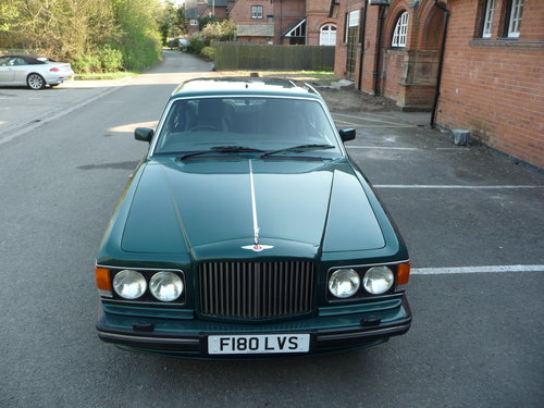 Bentley Turbo R 1989 32500 miles nearly new! For Sale (picture 4 of 6)