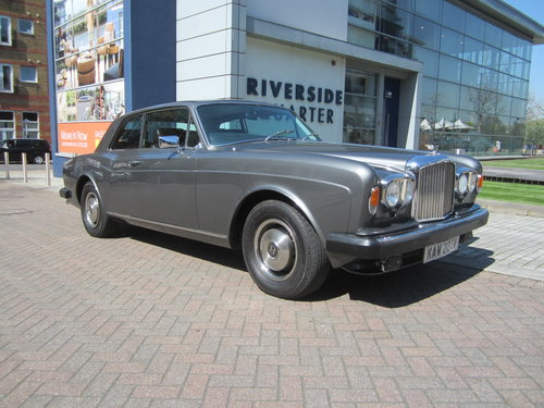 1980 Bentley Corniche FHC 5000 Series For Sale (picture 1 of 6)