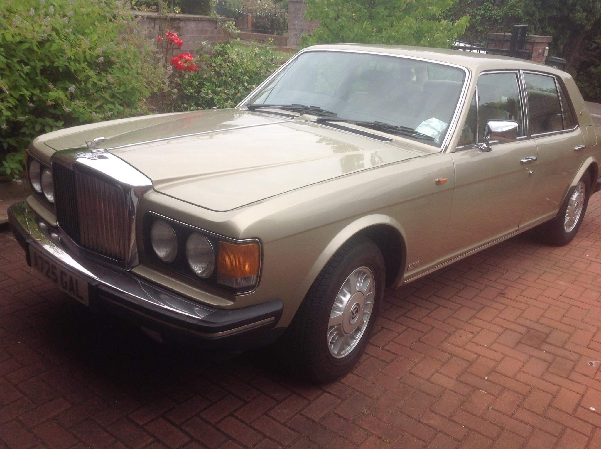 1983 Bentley Mulsanne with Turbo Engine For Sale (picture 1 of 10)