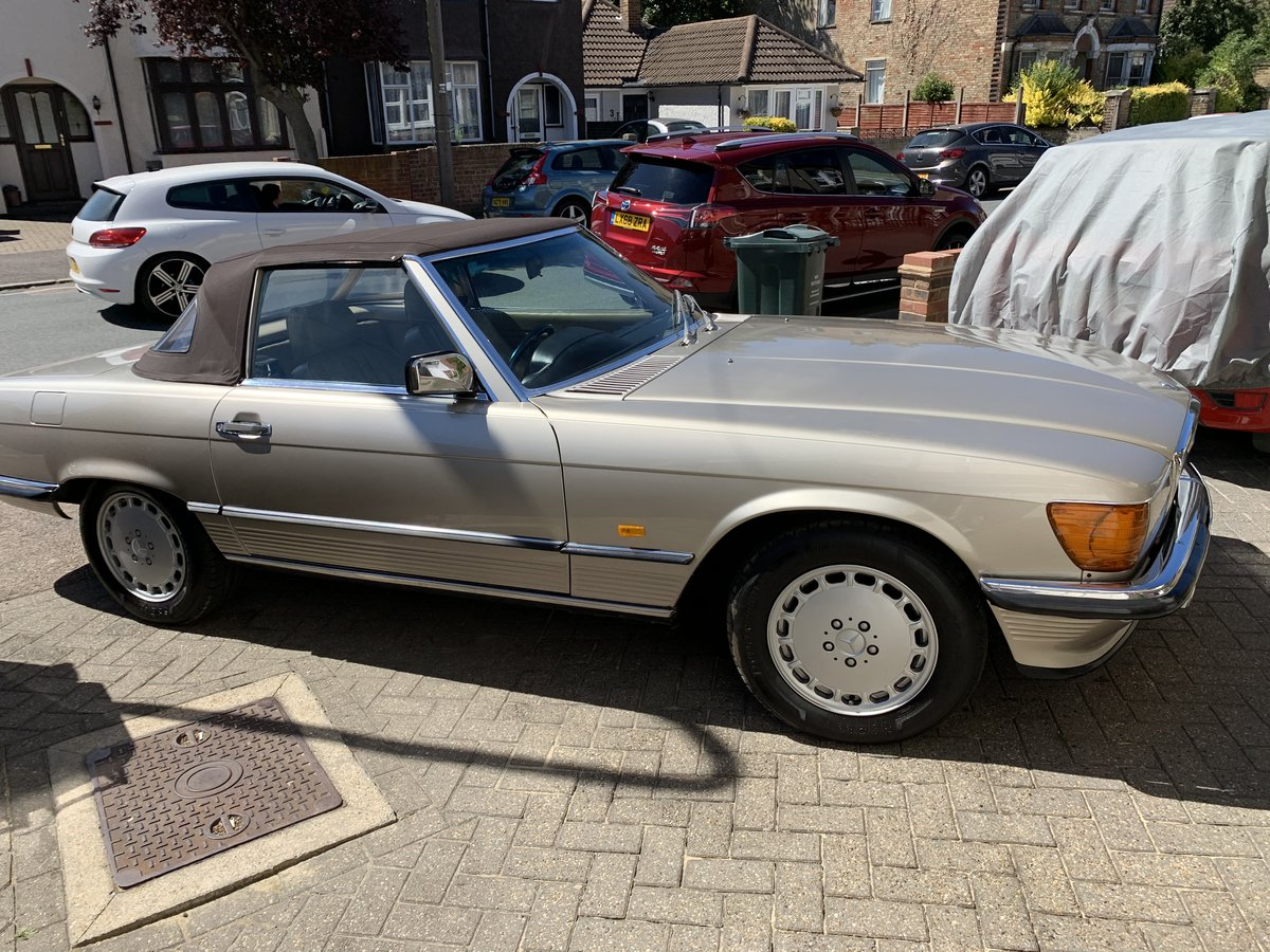 1987 Mercedes 300sl For Sale (picture 1 of 6)