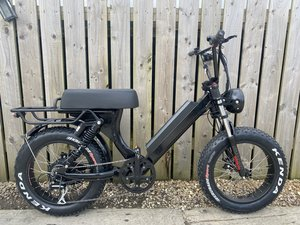Picture of 2021 E-BIKE MONKEY BIKE BOBBER CRUISER PX SUPER 73 500W = FAST! For Sale
