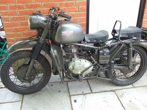 1961 Bianchi MT61  Military
