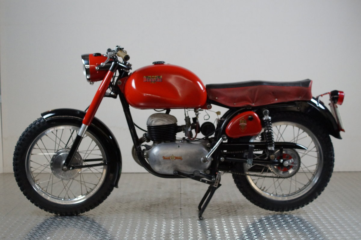 1960 Bianchi Medola, 124 cc, 6 hp For Sale (picture 1 of 6)