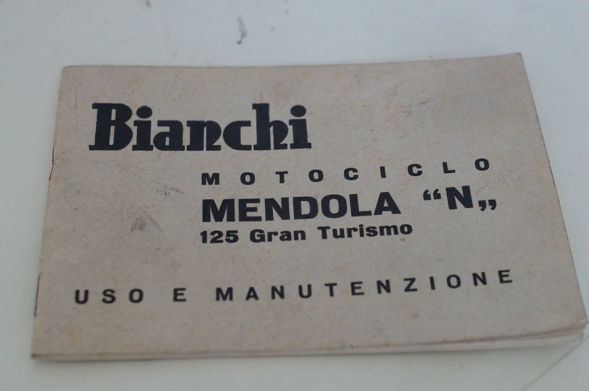 1960 Bianchi Medola, 124 cc, 6 hp For Sale (picture 6 of 6)