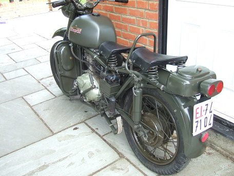 1960 Bianchi MT61, Military. For Sale (picture 4 of 6)