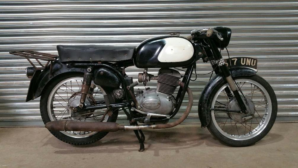 1961 BIANCHI BERNINA LV 125cc VERY RARE ORIGINAL UK BIKE  For Sale (picture 1 of 4)