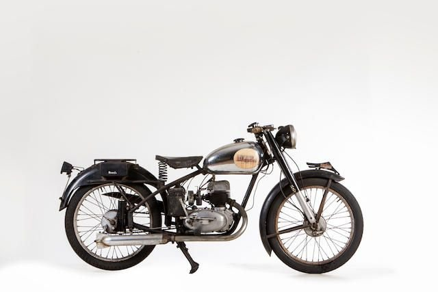 1950 BIANCHI 125CC BIANCHINA (LOT 501) SOLD by Auction (picture 1 of 1)