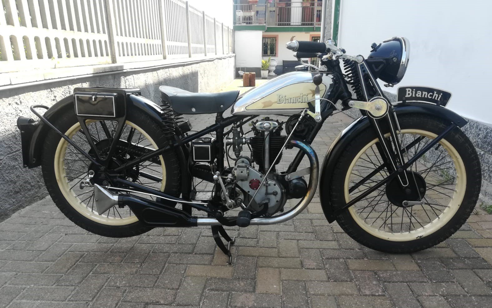 Bianchi 175cc - 1934 - Fully Restored For Sale (picture 1 of 6)