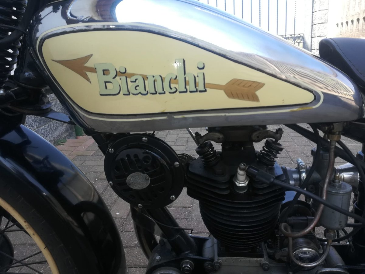 Bianchi 175cc - 1934 - Fully Restored For Sale (picture 6 of 6)