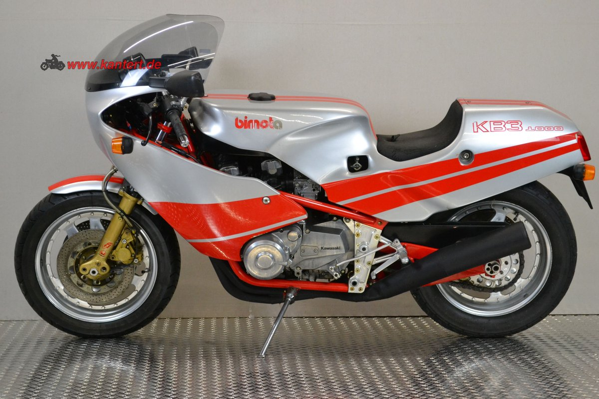 1983 Bimota KB 3, 998 cc, 98 hp, 18000 km For Sale (picture 1 of 6)