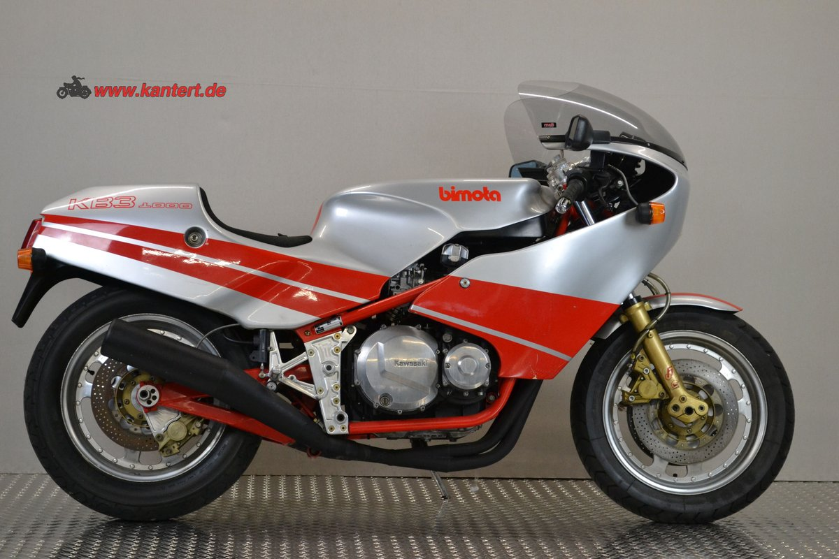 1983 Bimota KB 3, 998 cc, 98 hp, 18000 km For Sale (picture 2 of 6)