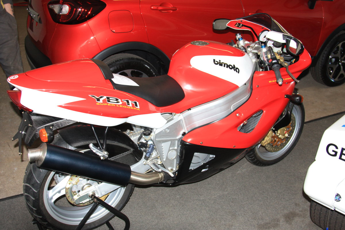 Bimota YB 11 in Hessen - Darmstadt | Motorrad gebraucht