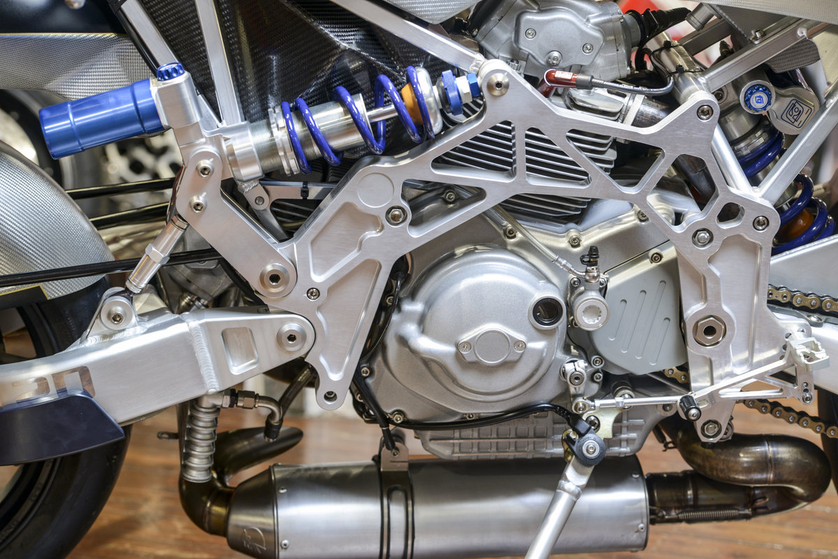 2005 Bimota Vyrus Tesi 2D 1 of only 25 For Sale (picture 3 of 6)