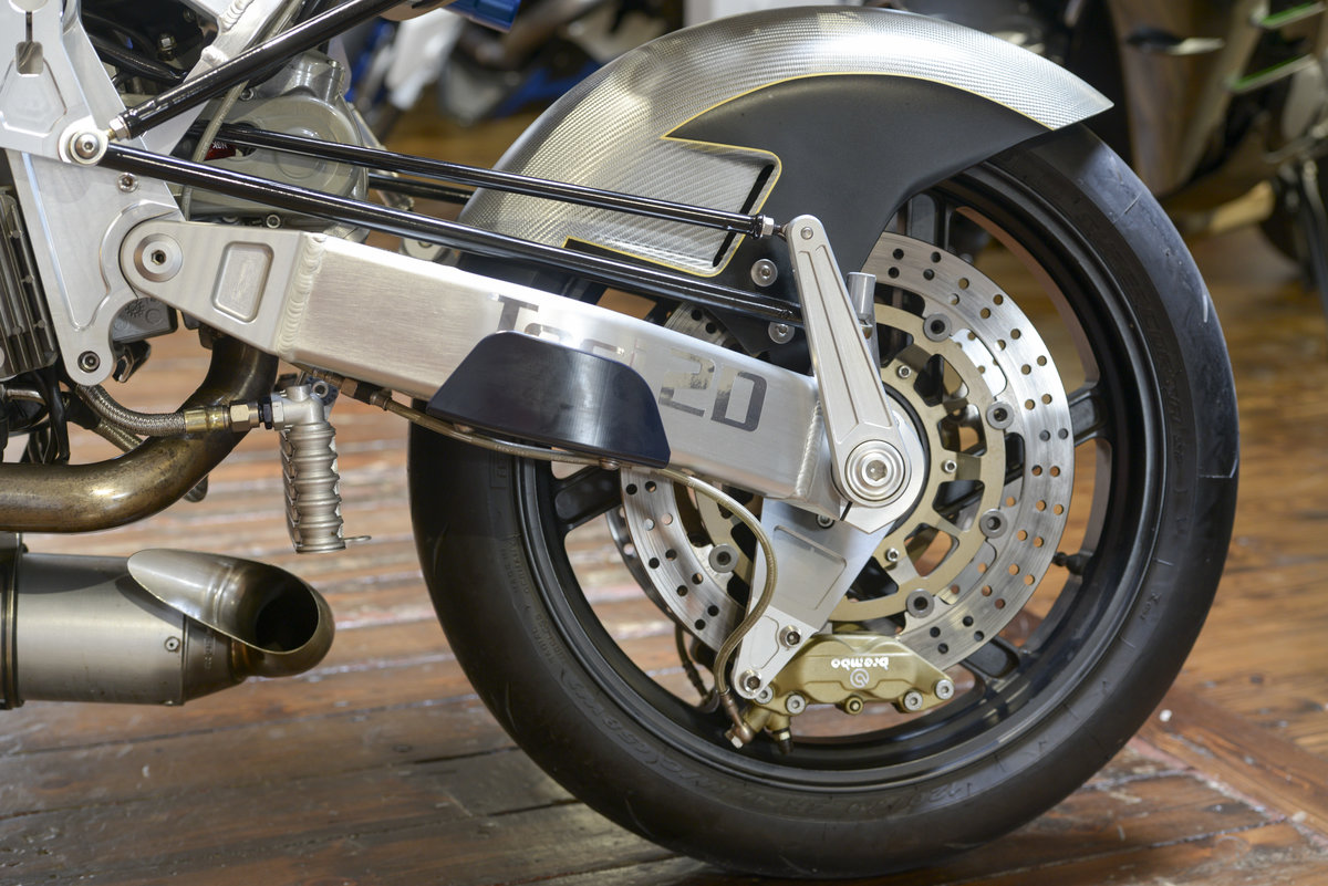 2005 Bimota Vyrus Tesi 2D 1 of only 25 For Sale (picture 5 of 6)