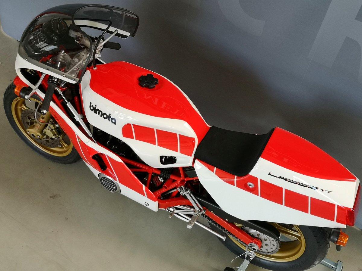 1984 Bimota KB2 Laser TT like new - for sale SOLD (picture 5 of 6)