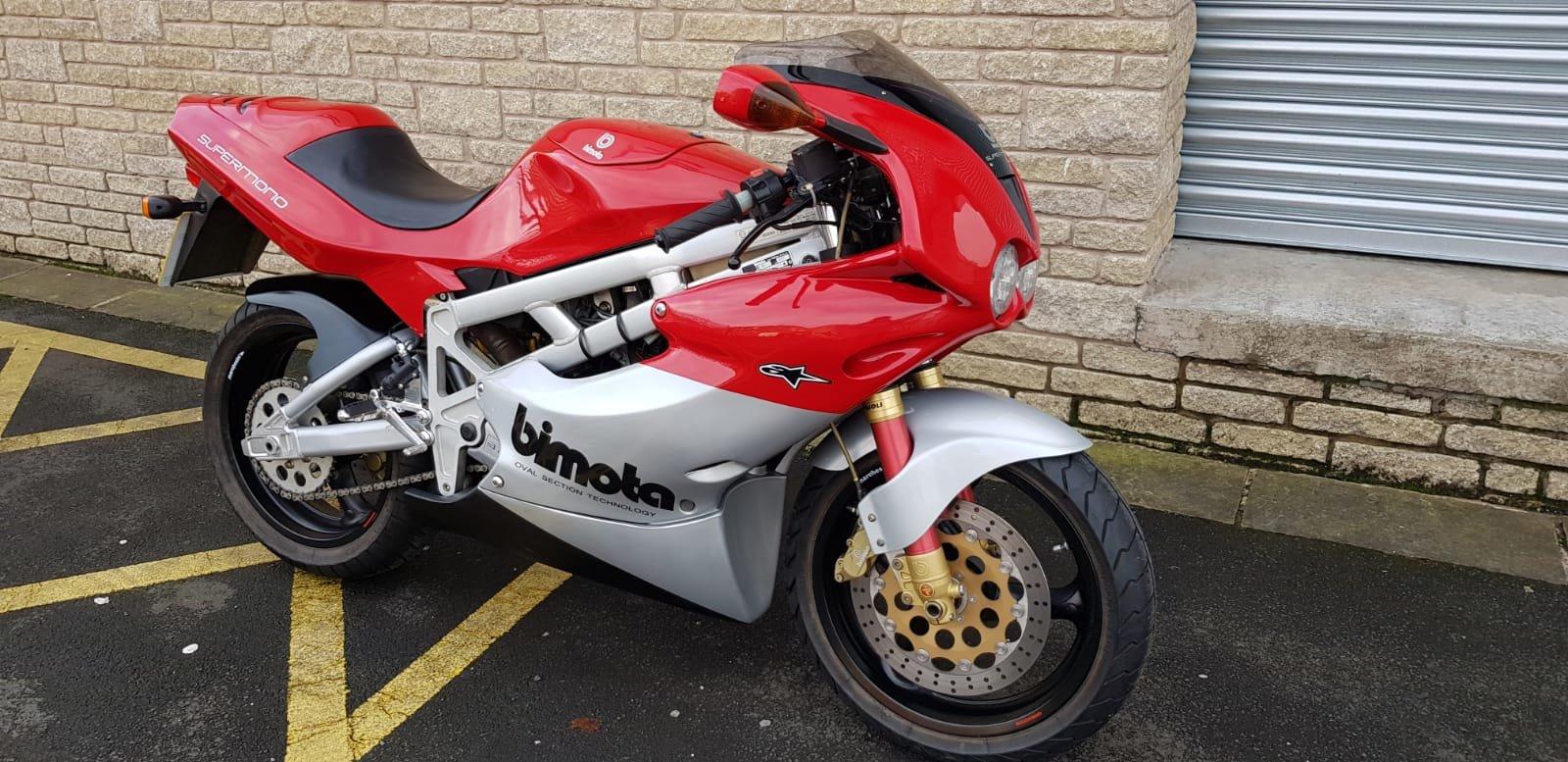 1997 Bimota Immaculate BB1 Supermono For Sale (picture 1 of 5)