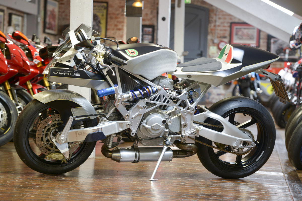 2008 Bimota Tesi 2D Super Rare 1 of only 25 Produced For Sale (picture 6 of 6)