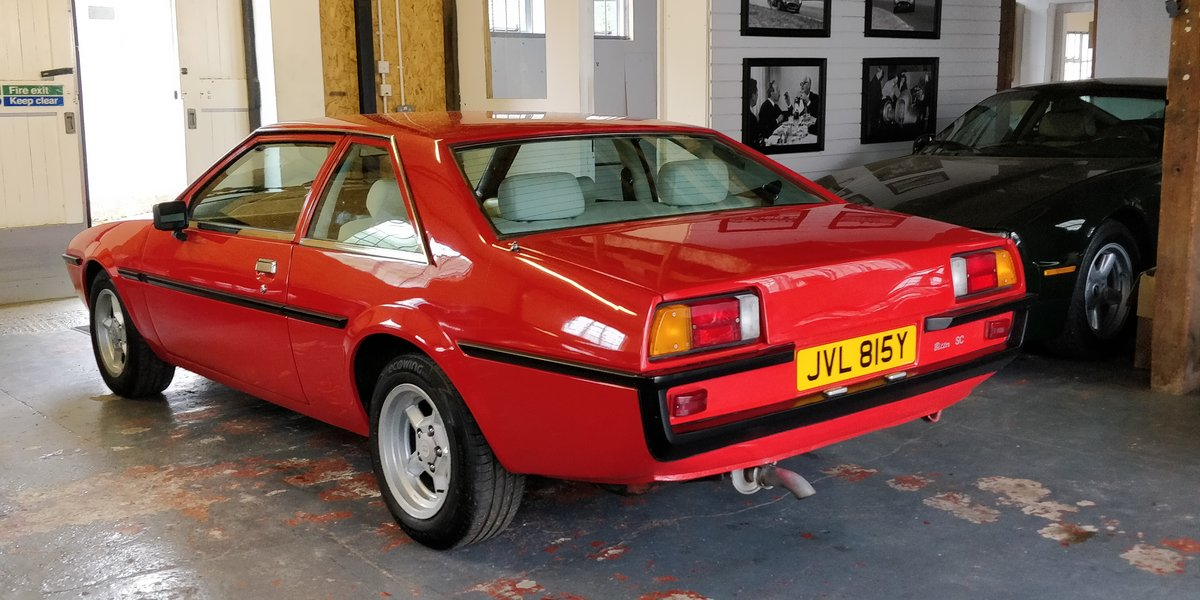1982 Bitter SC 3.0 L6 Coupe RHD rare For Sale (picture 1 of 6)