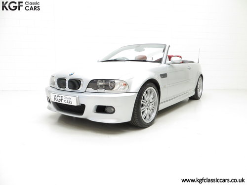 2003 A Desirable Facelift BMW E46 M3 Convertible, 67,585 Miles SOLD (picture 2 of 6)
