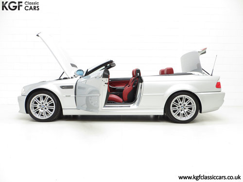 2003 A Desirable Facelift BMW E46 M3 Convertible, 67,585 Miles SOLD (picture 3 of 6)