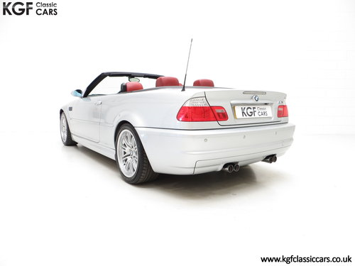 2003 A Desirable Facelift BMW E46 M3 Convertible, 67,585 Miles SOLD (picture 4 of 6)