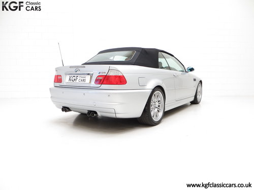 2003 A Desirable Facelift BMW E46 M3 Convertible, 67,585 Miles SOLD (picture 5 of 6)