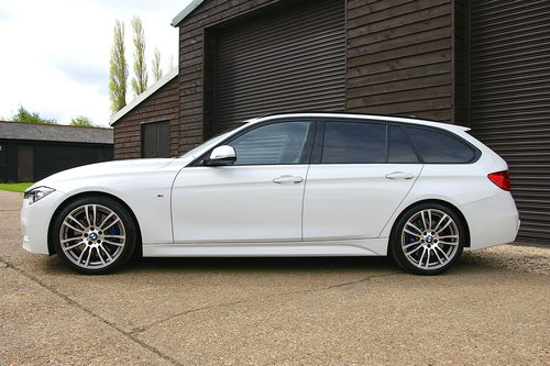 2014 BMW F30 335D M-Sport XDrive Touring Auto (22,645 miles) SOLD (picture 1 of 6)