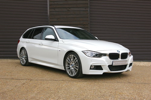 2014 BMW F30 335D M-Sport XDrive Touring Auto (22,645 miles) SOLD (picture 2 of 6)