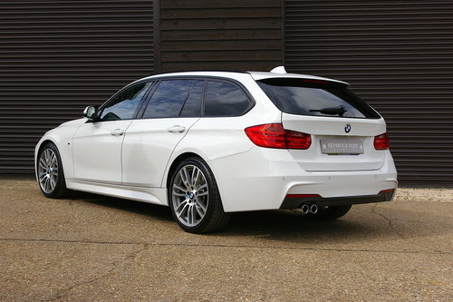 2014 BMW F30 335D M-Sport XDrive Touring Auto (22,645 miles) SOLD (picture 3 of 6)