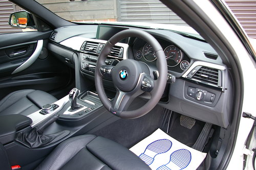 2014 BMW F30 335D M-Sport XDrive Touring Auto (22,645 miles) SOLD (picture 4 of 6)