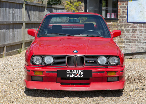 1989 BMW E30 M3 Cecotto Misano Red SOLD (picture 1 of 6)