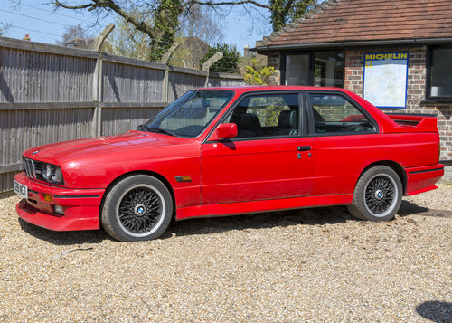 1989 BMW E30 M3 Cecotto Misano Red SOLD (picture 2 of 6)