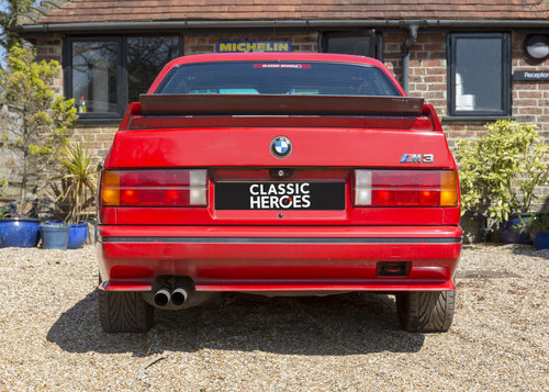 1989 BMW E30 M3 Cecotto Misano Red SOLD (picture 4 of 6)