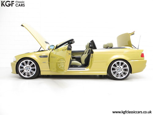 2001 A Phenomenal BMW E46 M3 Convertible with 31,509 Miles SOLD (picture 3 of 6)