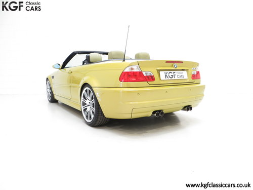 2001 A Phenomenal BMW E46 M3 Convertible with 31,509 Miles SOLD (picture 4 of 6)