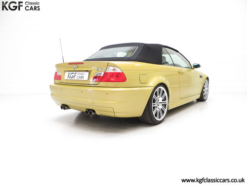 2001 A Phenomenal BMW E46 M3 Convertible with 31,509 Miles SOLD (picture 5 of 6)