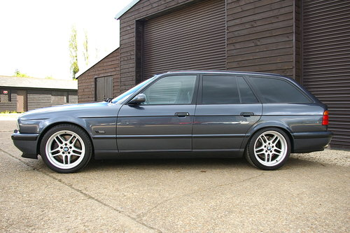 1995 BMW E34 M5 3.8i Touring 6 Speed Manual (86,216 miles) For Sale (picture 1 of 6)