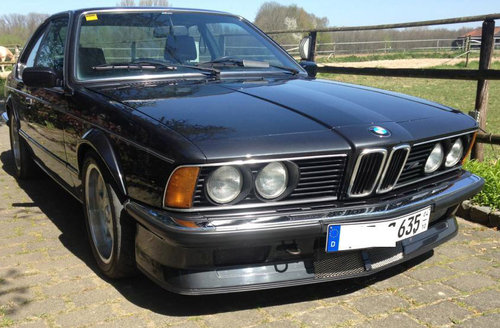 1985 BMW M635 CSI Kompressor SOLD (picture 1 of 5)